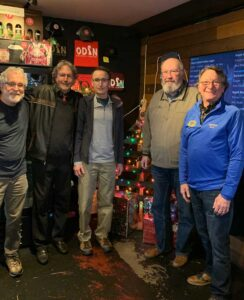 Brian Martinet, Mike Presley, John Morse, Dale Tabat, Mike Rinehart